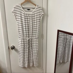Banana Republic Striped Adjustable Waist Dress